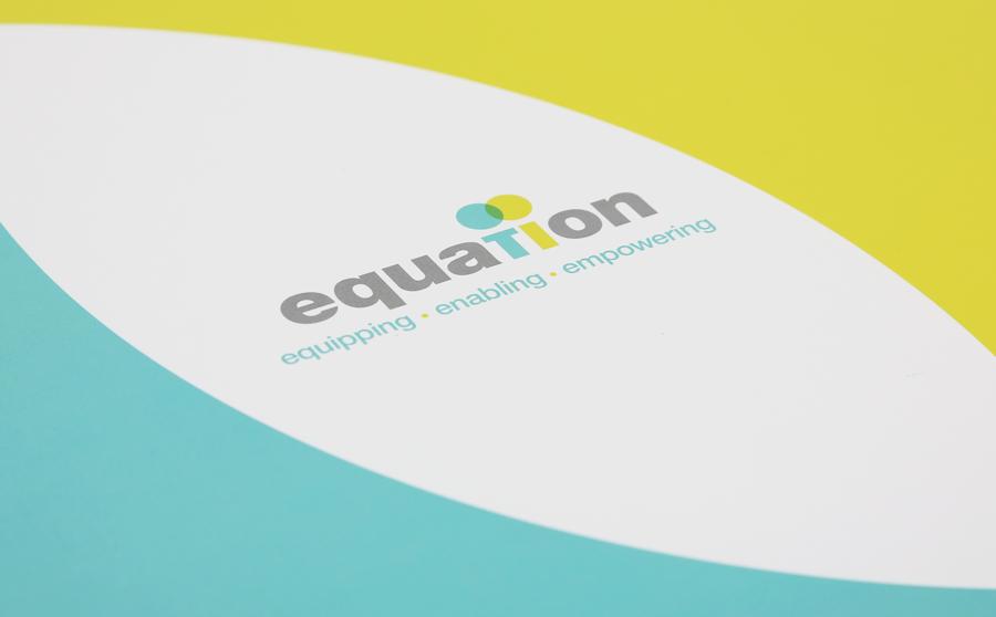 relaunch as equation brand design
