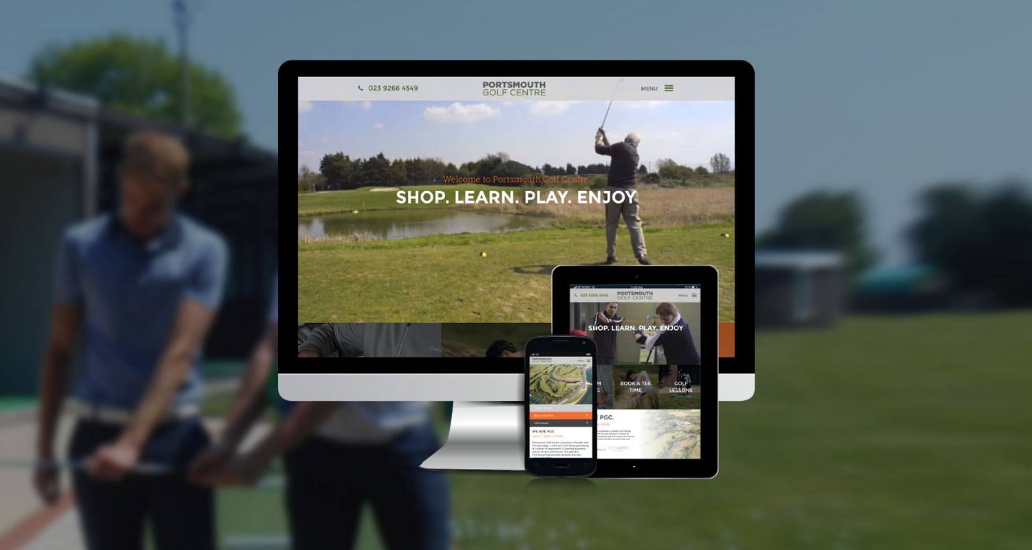 Golf Industry Website Designers